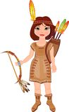 American Indian girl Royalty Free Stock Images