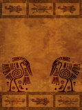 American Indian national patterns Royalty Free Stock Image