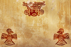 American Indian national patterns Stock Photography