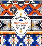 American indian ornate pattern design Royalty Free Stock Photos