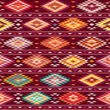 American Indian pattern Royalty Free Stock Photo