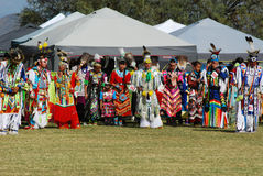 American Indian Pow Wow. Scottsdale, AZ, USA - November 1, 2014: 28th Annual Red Mountain Eagle Pow Wow celebrated at the Salt River Pima - Maricopa Indian royalty free stock image