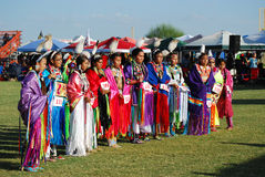 American Indian Pow Wow. Scottsdale, AZ, USA - November 1, 2014: 28th Annual Red Mountain Eagle Pow Wow celebrated at the Salt River Pima - Maricopa Indian stock images
