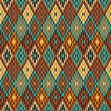 American Indian seamless pattern Royalty Free Stock Images