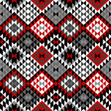 American Indian seamless pattern design Royalty Free Stock Images