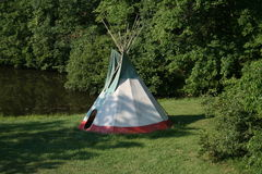 American Indian Tee Pee Stock Photography