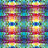 American Indian Textile Pattern. Stylish fashion in trendy design in vivid and bright colors, seamless Royalty Free Stock Images