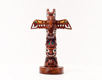 American Indian Totem Pole Stock Image