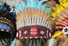 American indian  traditional costume Royalty Free Stock Photo