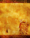 American Indian traditional patterns Royalty Free Stock Photography
