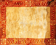 American Indian traditional patterns Stock Image