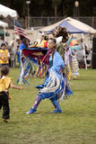 American Indian at UCLA Pow Wow Royalty Free Stock Photo