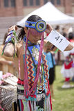 American Indian at UCLA Pow Wow Stock Photography