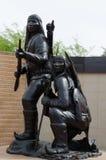 American Indian Veterans National Memorial, Heard Museum, Phoenix Stock Photos