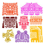 American indians ancient totems Royalty Free Stock Photography