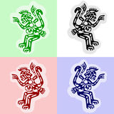 American indians' monkeys Royalty Free Stock Images