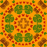 American indians'  ornament Stock Images