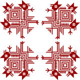 American indians'  ornament Stock Photos