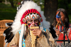 American Indians performance Stock Photography