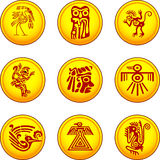 american indians' symbols Stock Image
