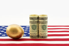 American investments grow a nest egg Stock Images