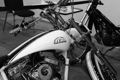 American Ironhorse motorcycle closeup Royalty Free Stock Photography