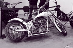 American Ironhorse motorcycle Royalty Free Stock Images