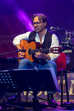 American jazz fusion and Latin jazz guitarist Al Di Meola performing live at Nisville Jazz Festival, August 11. 2016 Stock Photos