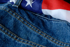 American Jeans Stock Photo