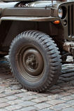 American Jeep Royalty Free Stock Photo