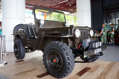 American jeep Royalty Free Stock Photography