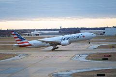 American Jet Departure Stock Photos