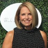 American journalist and author Katie Couric on the blue carpet before US Open 2017 opening night ceremony Stock Photos