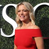 American journalist and political commentator Megyn Kelly on the blue carpet before US Open 2017 opening night ceremony. NEW YORK - AUGUST 28, 2017:  American Stock Images