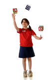 American Juggle Royalty Free Stock Images