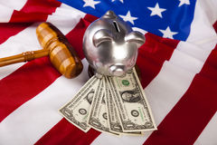 American Justice Royalty Free Stock Photos