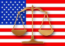 American Justice Stock Images