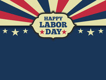 American labor day background Royalty Free Stock Photos