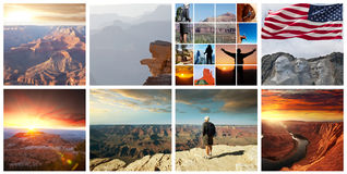 American landscapes Stock Image