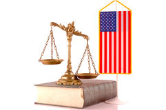 American law Stock Photo