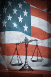 American law and justice Royalty Free Stock Photo