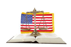 American law and order royalty free stock photos