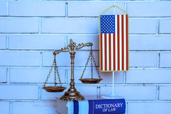 American law and order stock photos