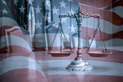 American law and order stock photography