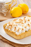 American lemon cake Royalty Free Stock Photography