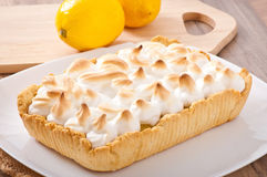 American lemon cake Royalty Free Stock Photo