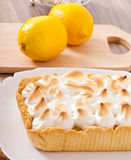 American lemon cake Stock Photos