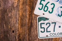 American License Plates Stock Images