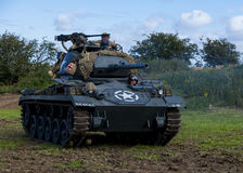 American Light Chaffee Tank and crew. Stock Photos