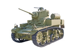 American Light Tank WWII, Stuart M3A1 Royalty Free Stock Images